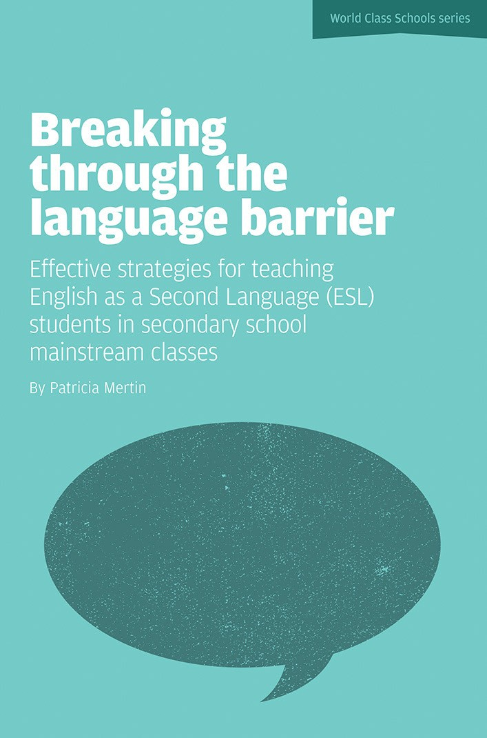 breaking the l2 learning barrier The paramount importance for esol learners of mastering oracy (listening and  speaking)  english as a second language as a barrier to labour market entry.