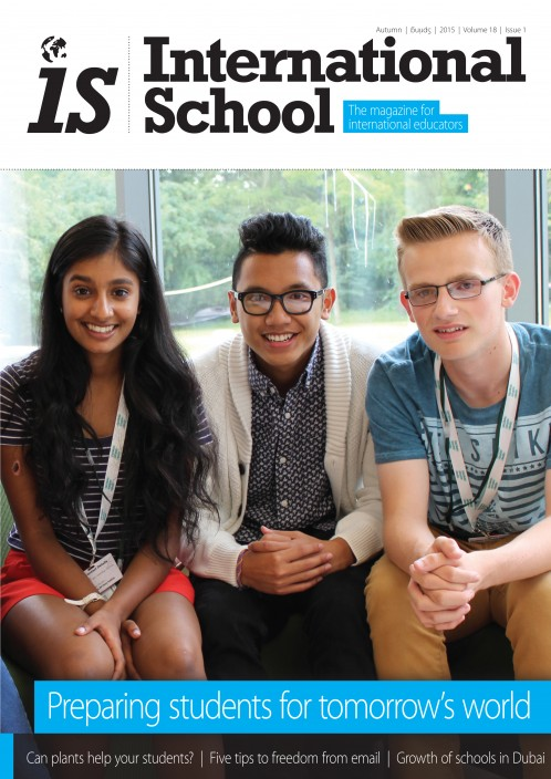 International School magazine - Two-Year Subscription