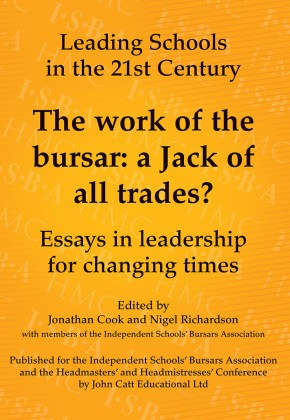 The work of the bursar: a Jack of all trades?